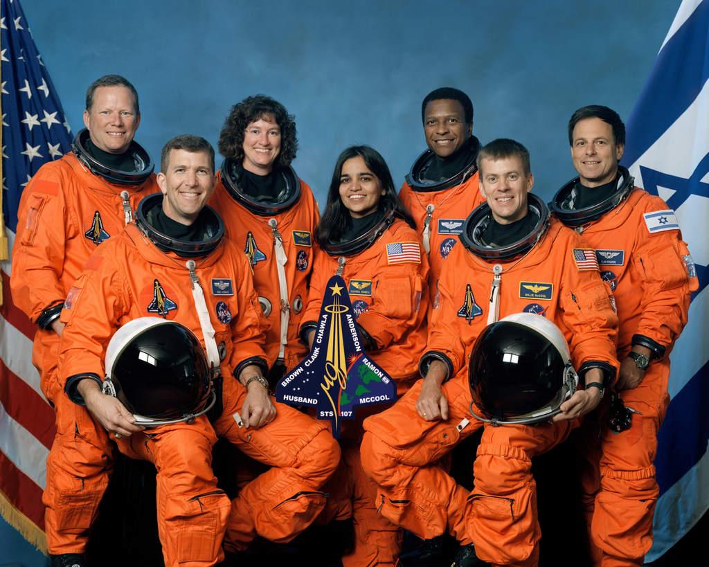 Załoga misji STS-107