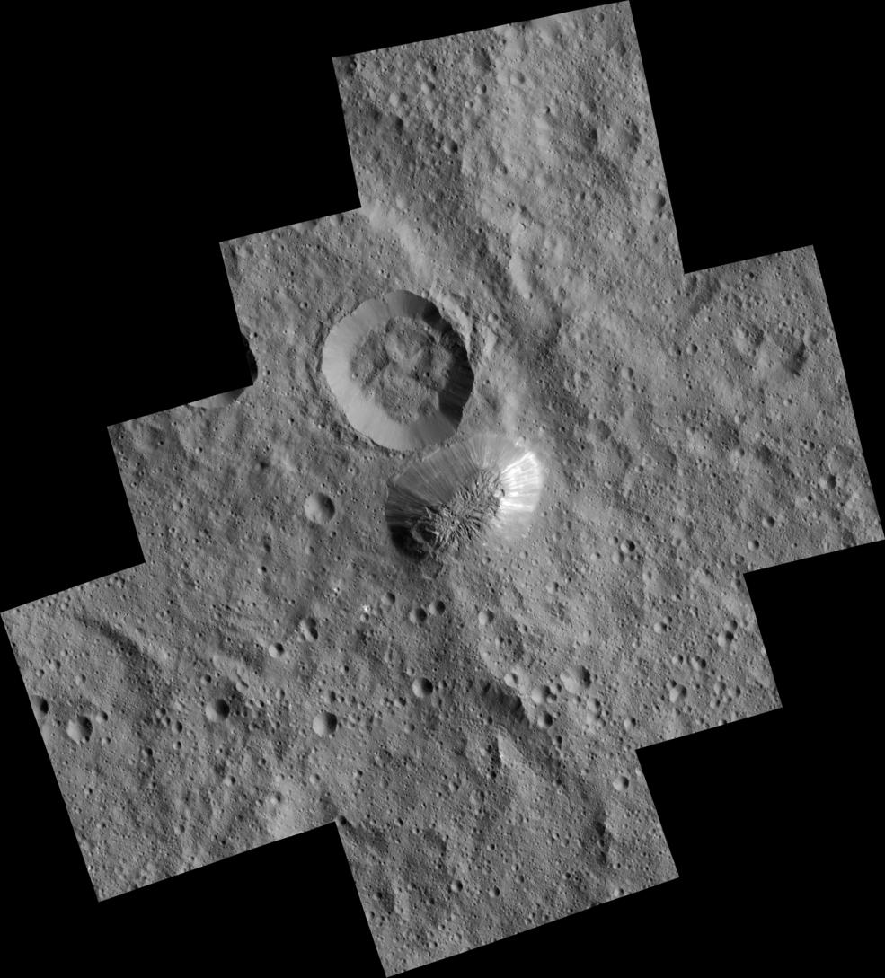 Góra Ahuna Mons na Ceres