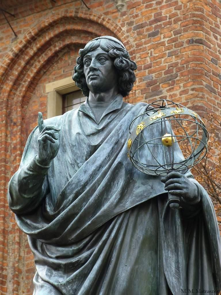 Pomnik Mikołaja Kopernika wToruniu (I)