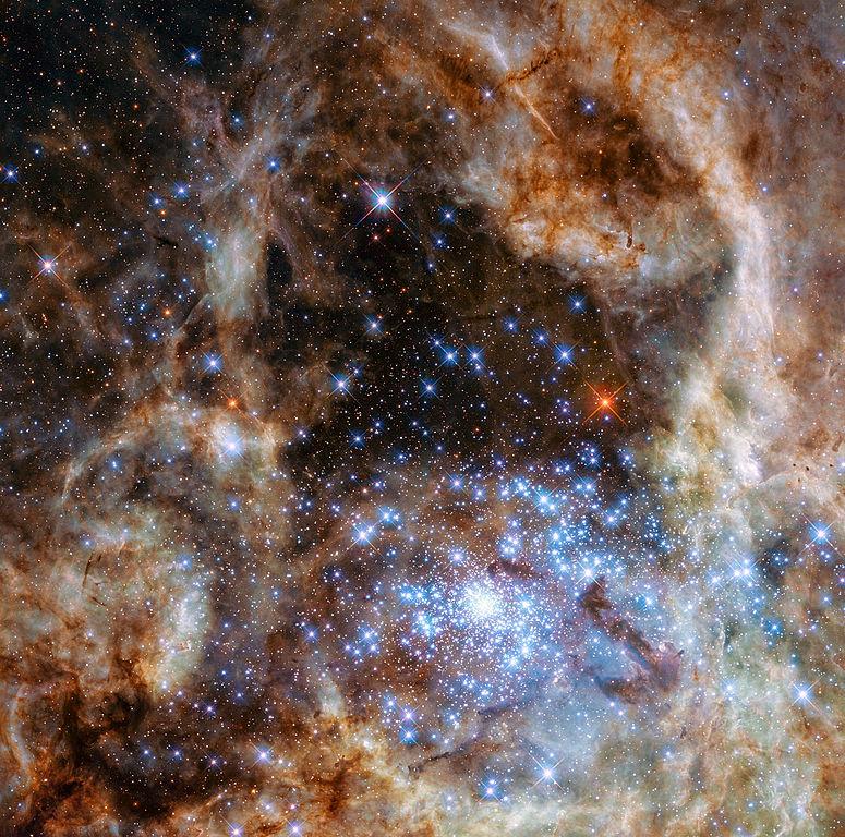 Gromada otwarta gwiazd R136.