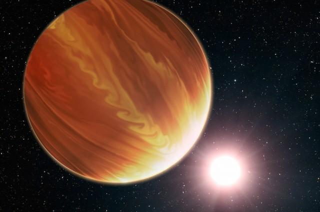 Wizja artystyczna planety pozasłonecznej