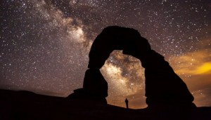 Droga Mleczna na niebie