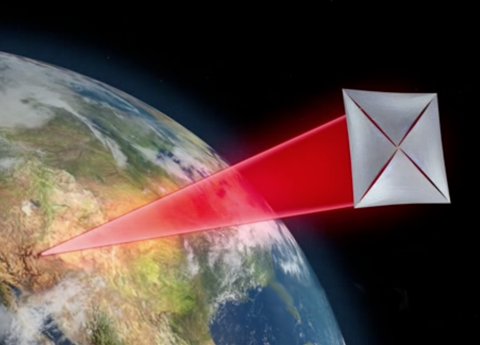 Breakthrough Starshot - nanosondy