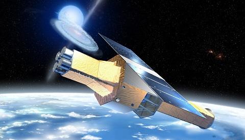 Koncepcja artystyczna satelity Hitomi