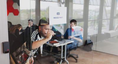Miejsce pracy na hackathonie