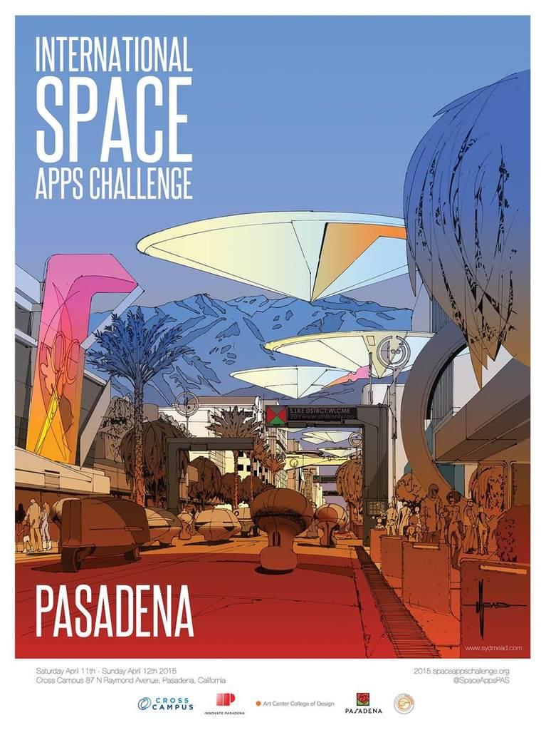 Jeden z plakatów zeszłorocznej edycji NASA Space Apps Challenge