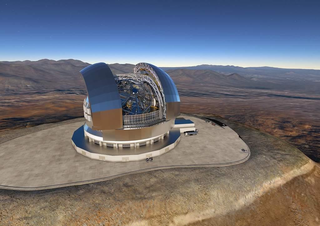 Teleskop E-ELT.