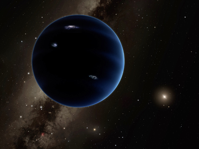 Dziewiąta Planeta - koncepcja artystyczna