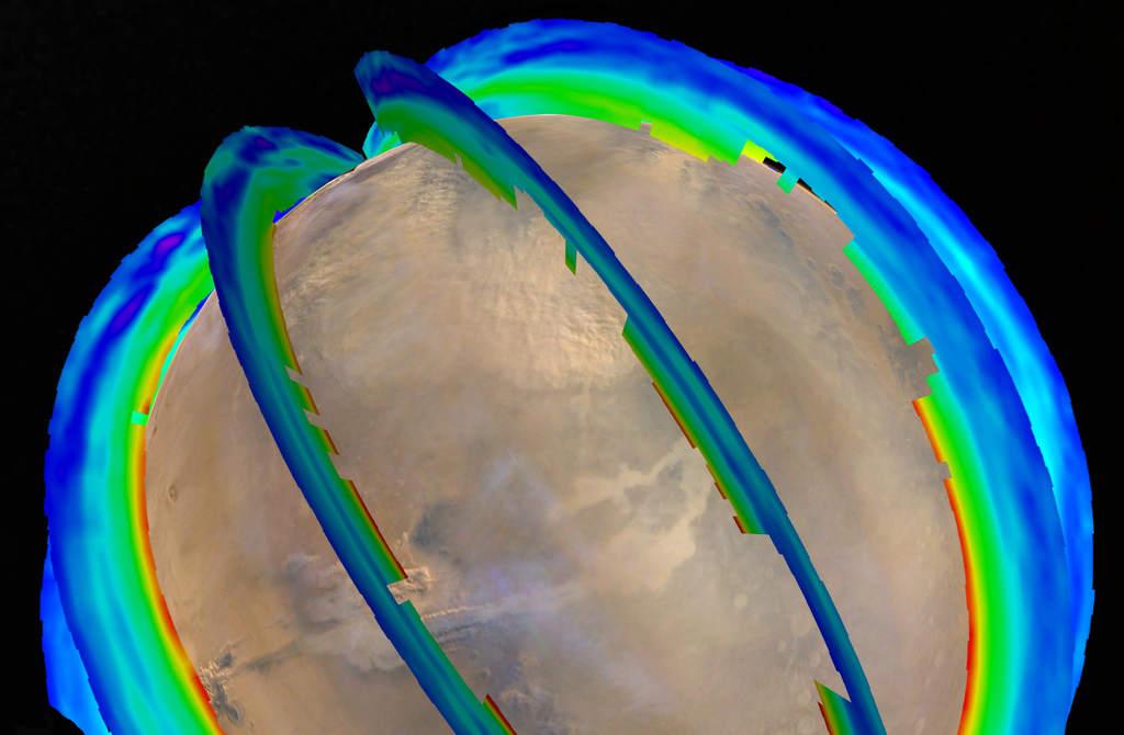 Profil temperatury atmosfery na Marsie